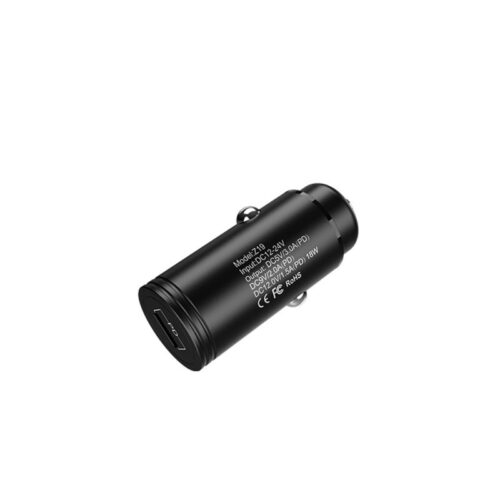z19 shrewd car charger pd charger with cable set back