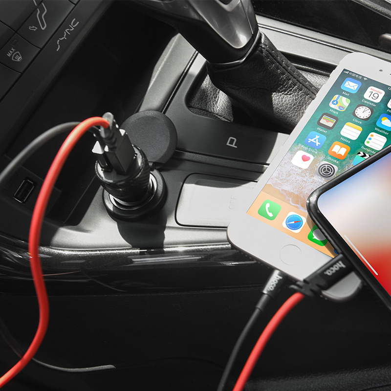 z21 ascender dual port car charger charge