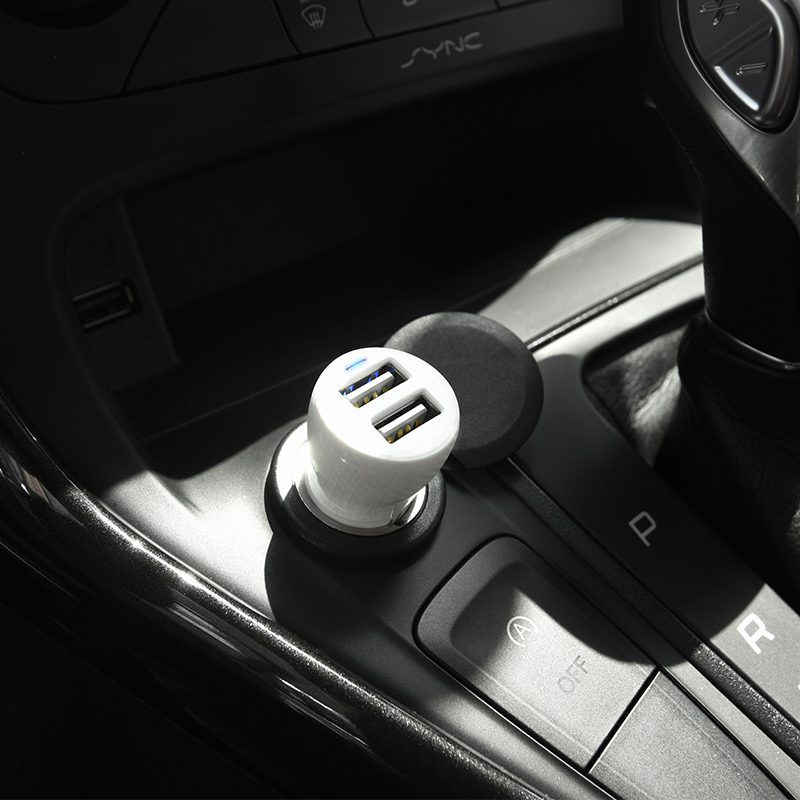 z21 ascender dual port car charger slot