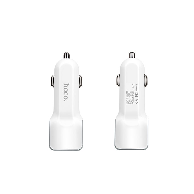 z23 grand style dual port car charger front back