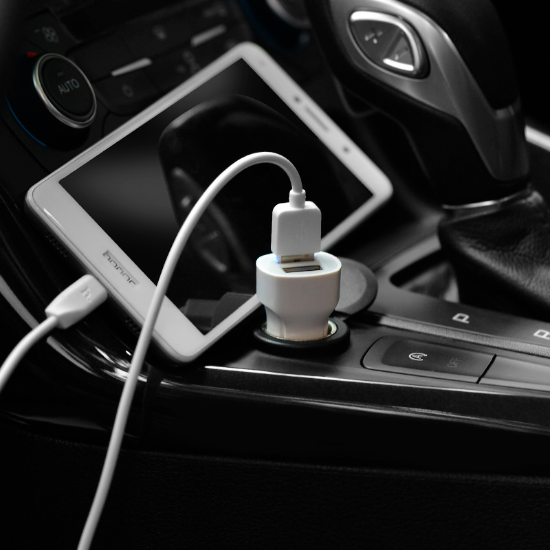 z2a two port car charger charging phone