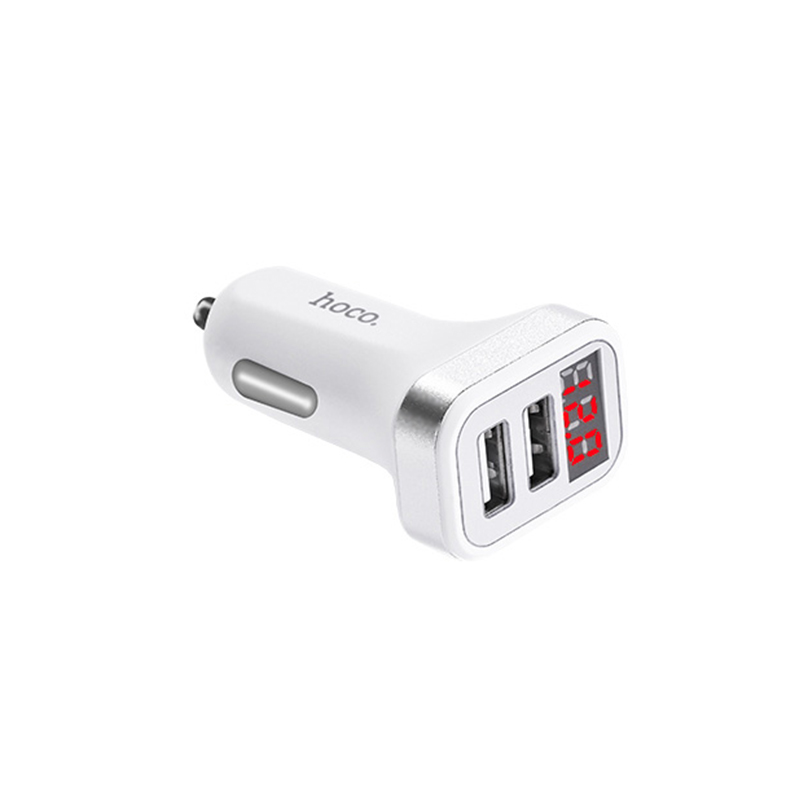 z3 dual usb digital display car charger overview