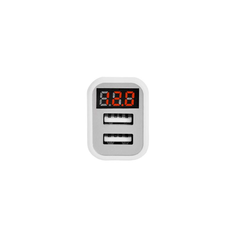 z3 dual usb digital display car charger