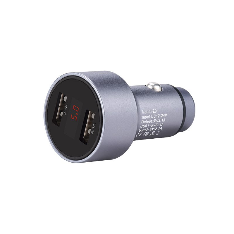 z9 kingkong digital display car charger spec