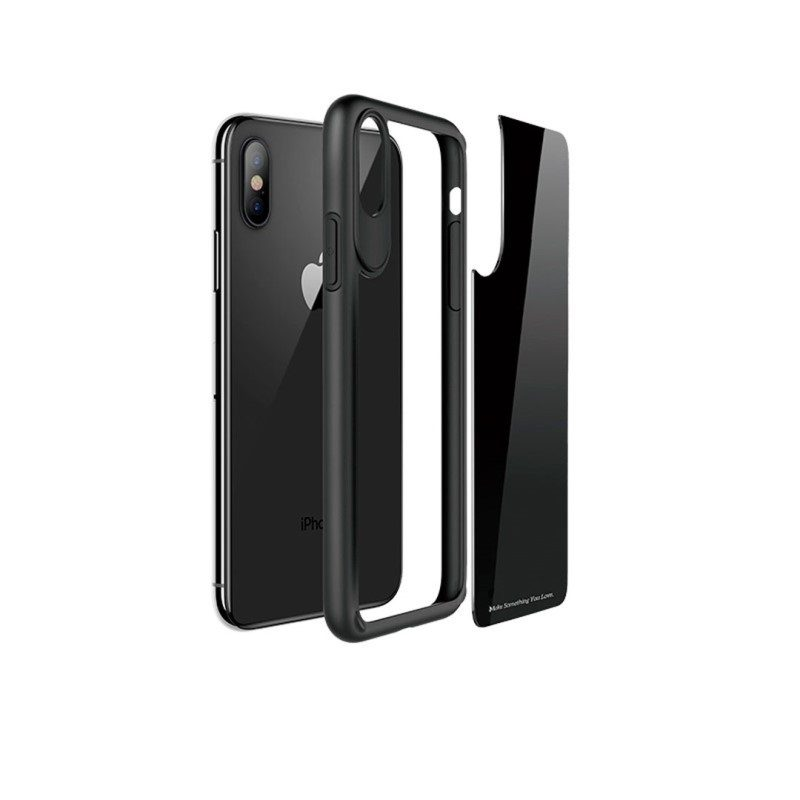 zero point series frame and back glass for iphone x