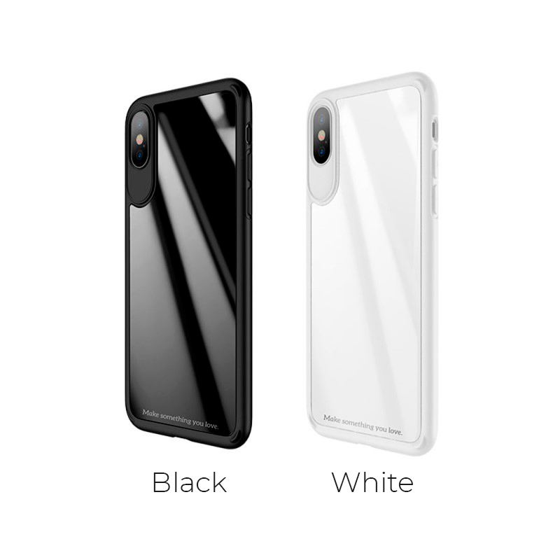 zero point series frame and back glass for iphone x colors