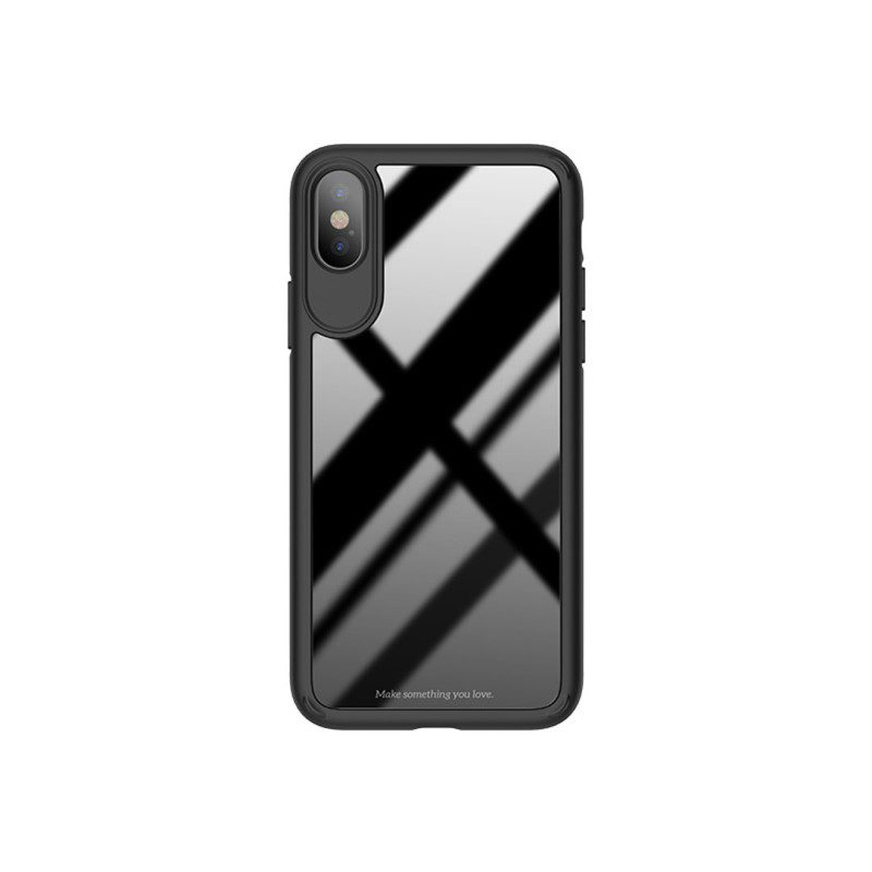 zero point series frame and back glass for iphone x front