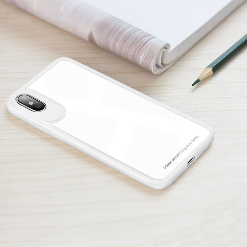 zero point series frame and back glass for iphone x pen