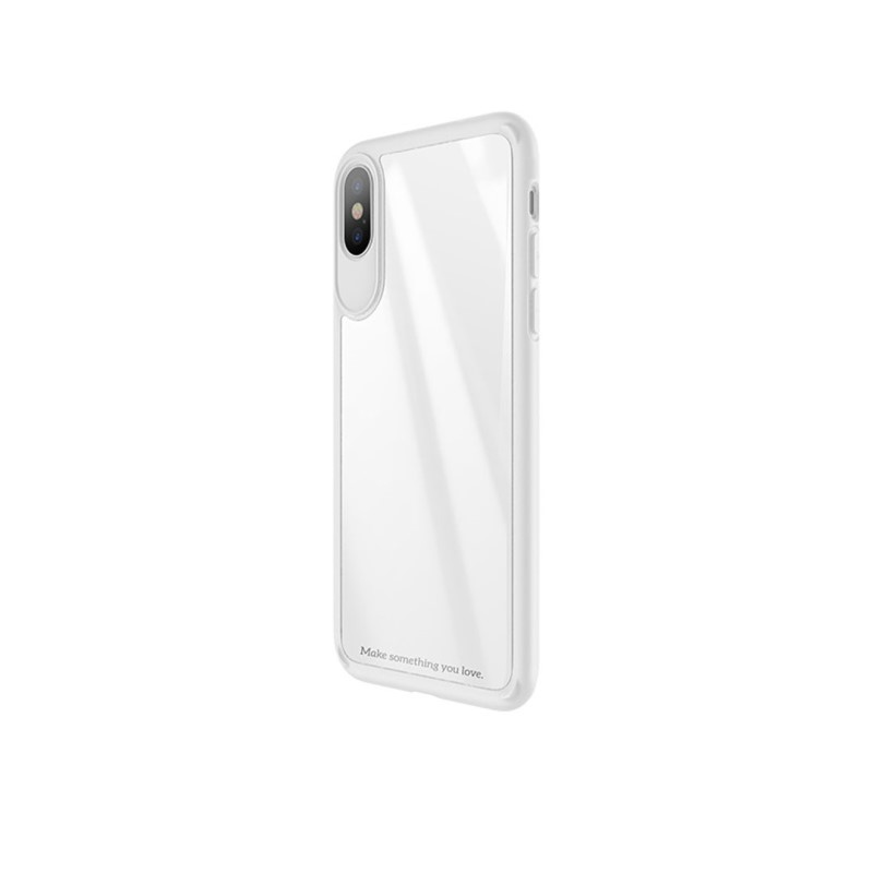 zero point series frame and back glass for iphone x side
