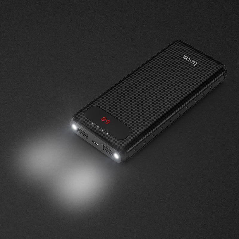 b20a 20000 mig lcd power bank lights