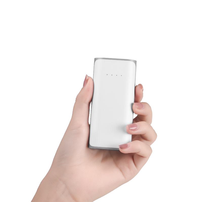 b21 5200 tiny pattern power bank hand