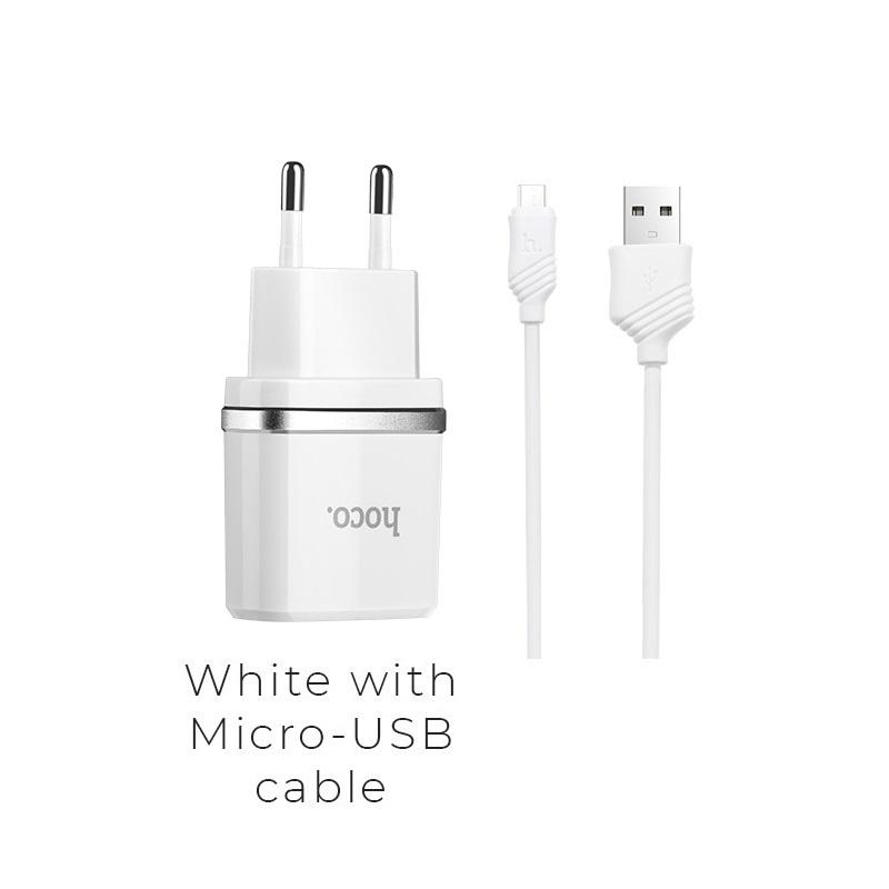c11 micro usb white