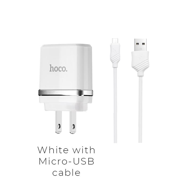 c12a micro usb white