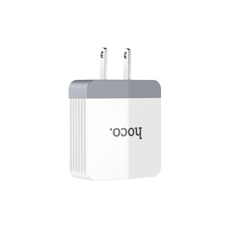 c13b dual usb charger plug
