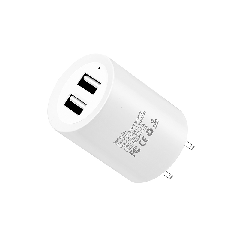 c14 elite two usb port charger specs