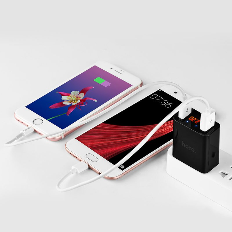 c25 cool dual port charger us phones