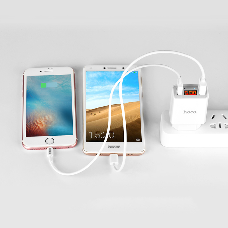 c25a cool dual port charger eu phones