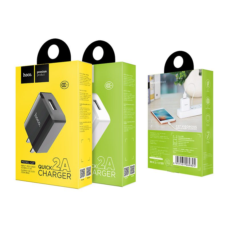 c27 vigorous single port charger packages