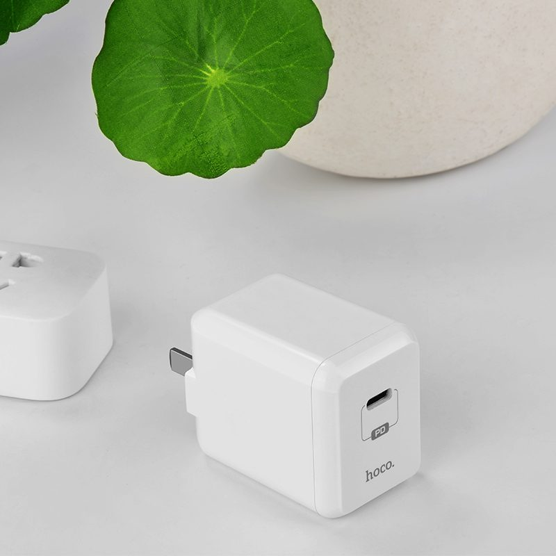 c28 auspicious pd single port charger flower