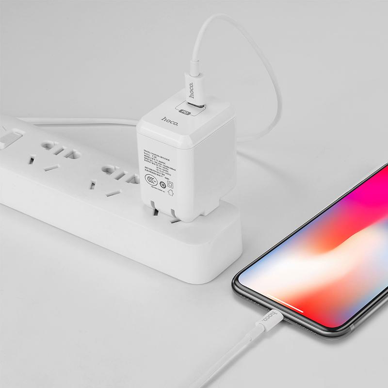 c28 auspicious pd single port charger set charging