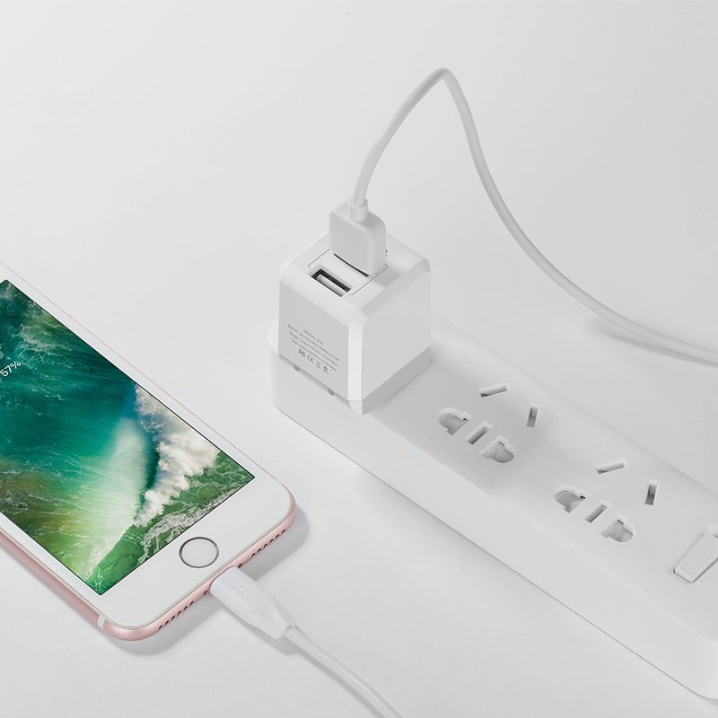 c30 sincere double port folding charger charging