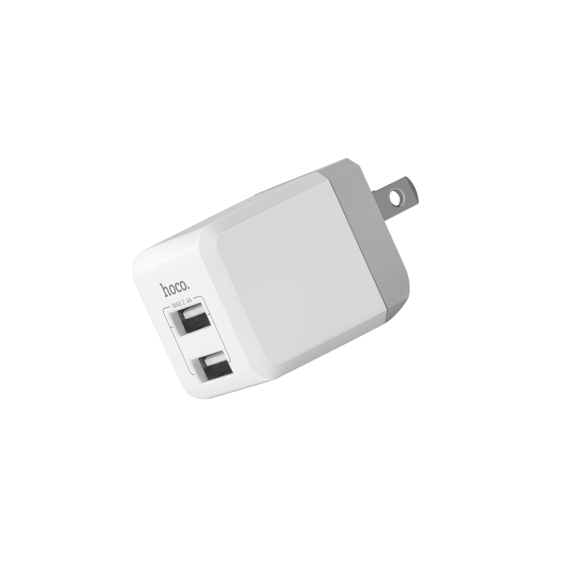 c30 sincere double port folding charger usb