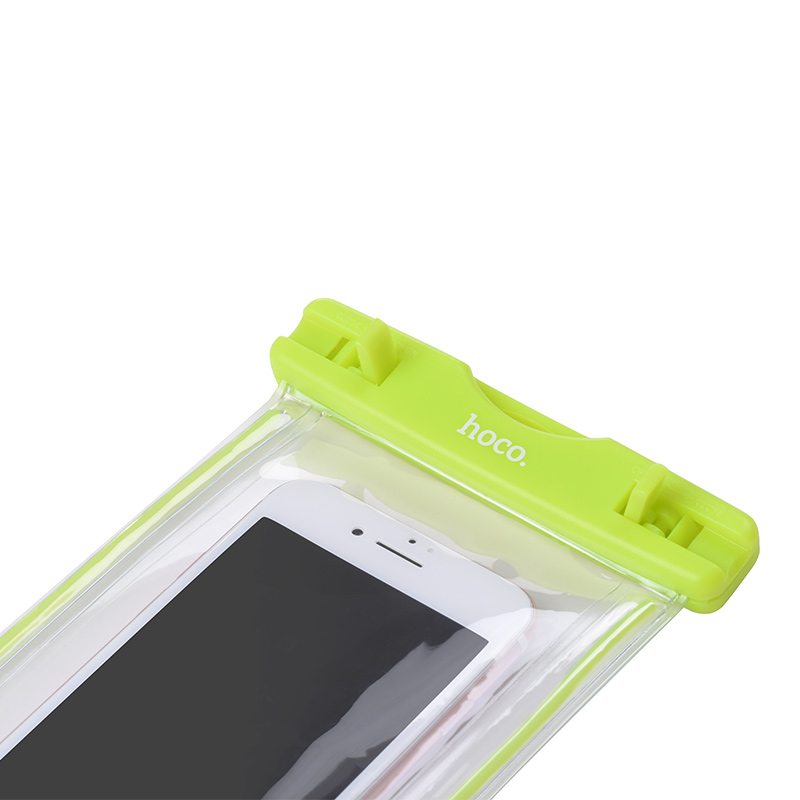 clear fluorescent waterproof bag clips