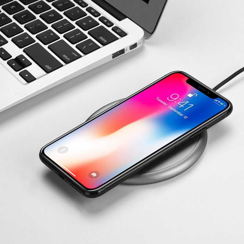 cw3a round wireless charger charge
