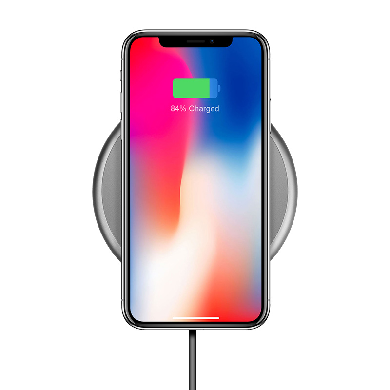 cw3a round wireless charger iphone