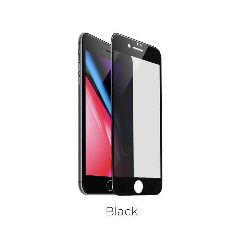ip 7 8 plus shatterproof glass a6 black