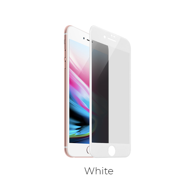 ip 7 8 plus shatterproof glass a6 white