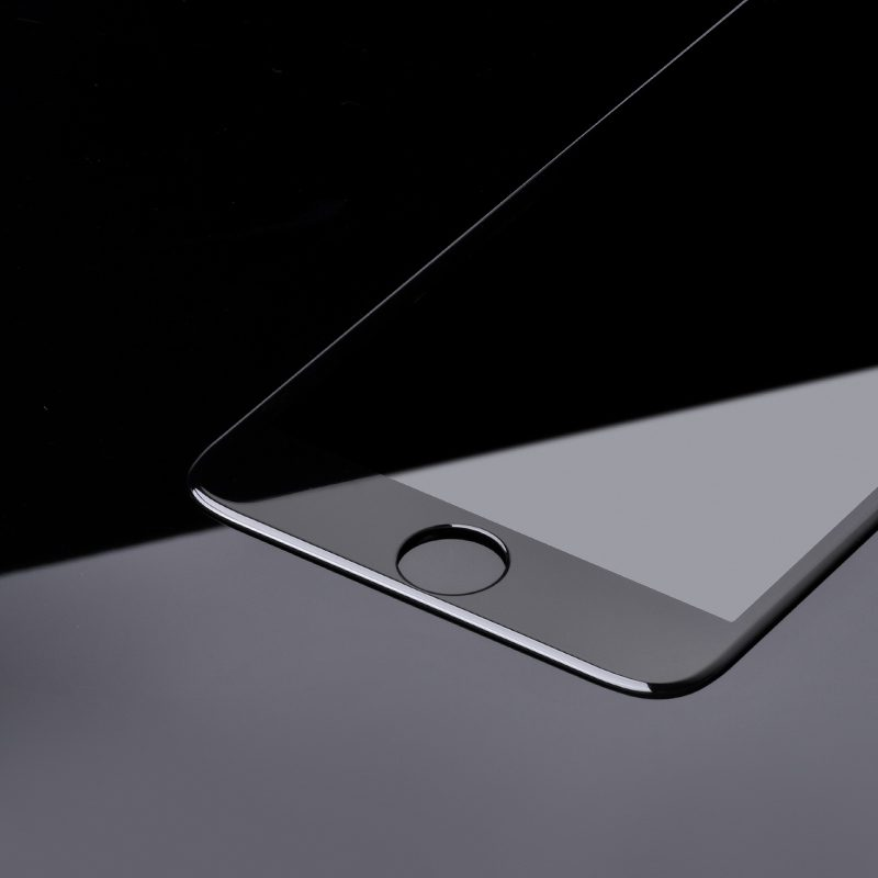iphone 7 8 plus a8 tempered glass frame