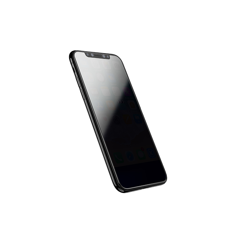 iphone x a6 screen protector on phone