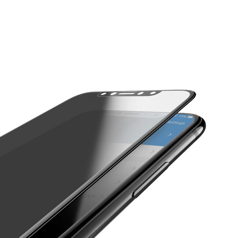 iphone x a6 screen protector thickness