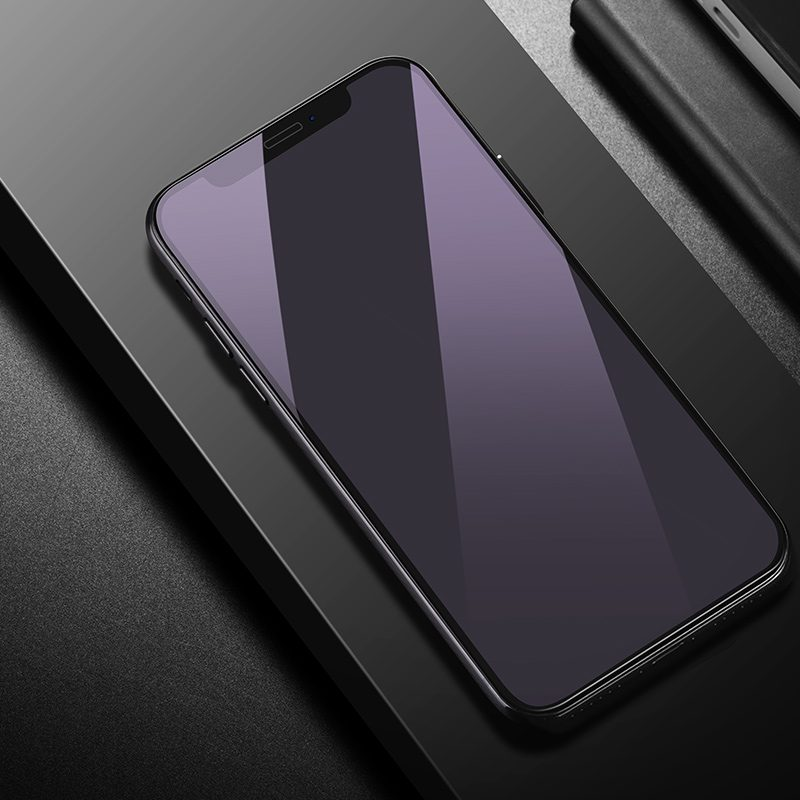 iphone x a9 screen protector installed