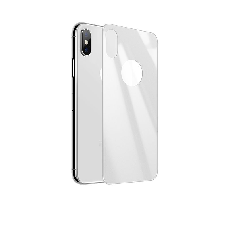 iphone x anti fingerprint back glass main