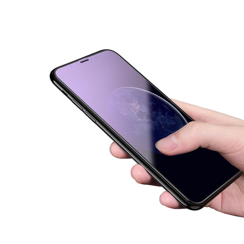 iphone x eye protection full screen glass hand