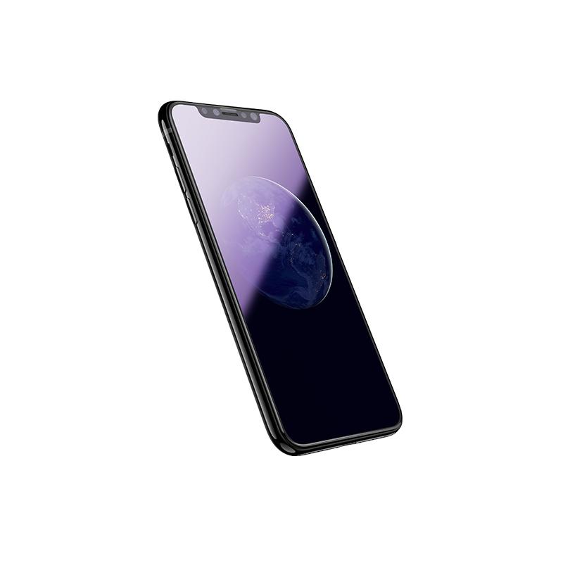 iphone x eye protection full screen glass on phone