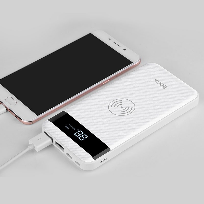 j11 astute wireless charging power bank charge
