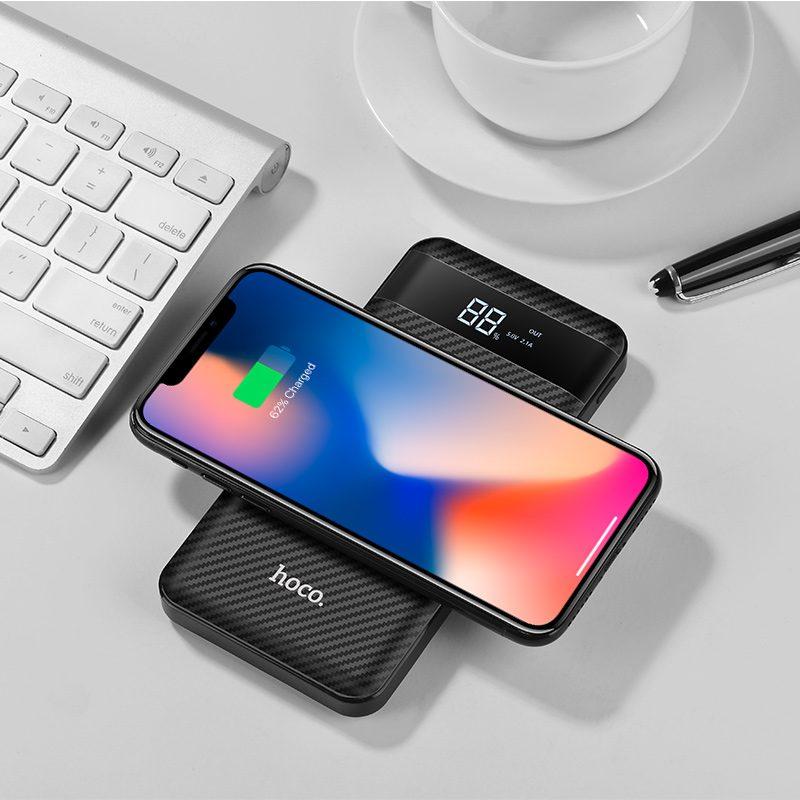 j11 astute wireless charging power bank iphone