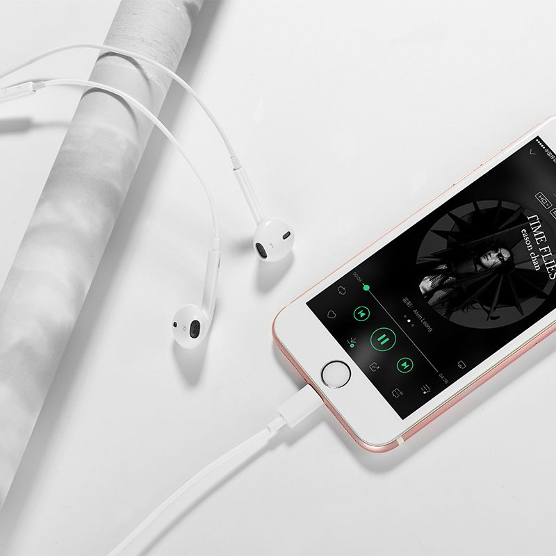 l7 original series lightning earphone iphone
