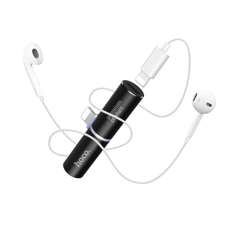 ls7 dual lightning digital audio converter earphones