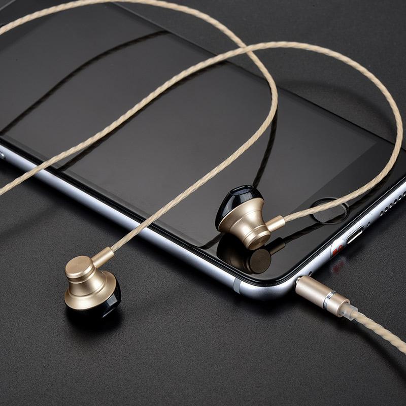 m18 goss metal universal earphone iphone