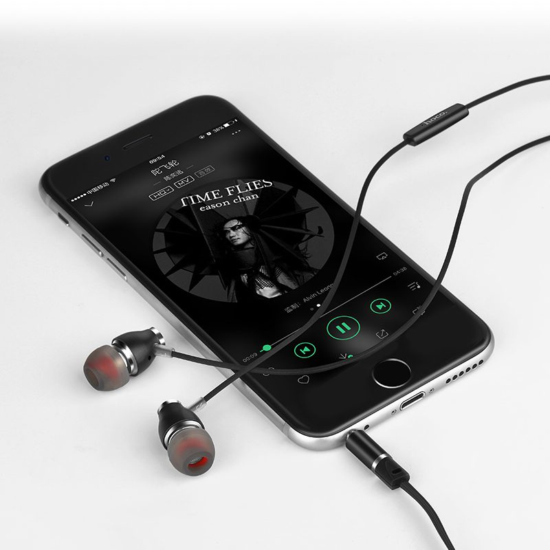 m28 ariose universal earphones with mic music