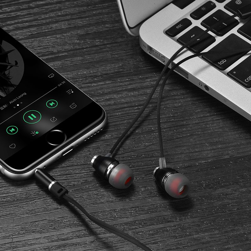 m28 ariose universal earphones with mic notebook