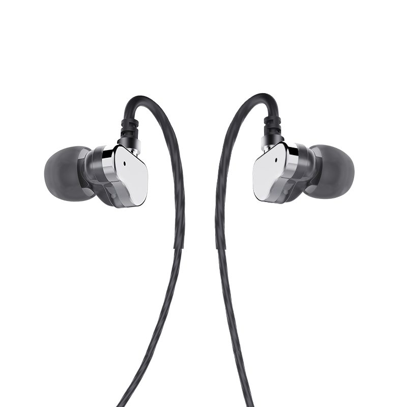 m36 double coil earphones with microphone
