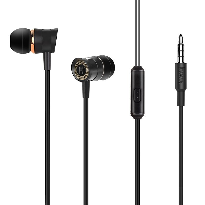 m37 universal earphones with microphone wires