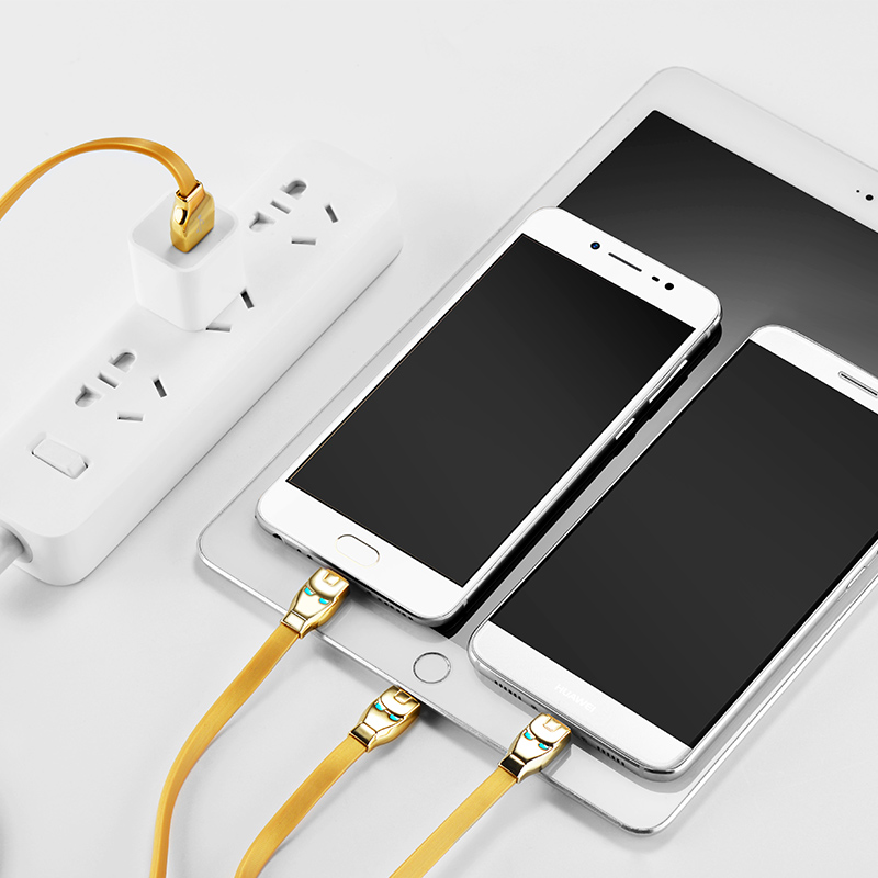 u14 steel man 3in1 charging cable interior