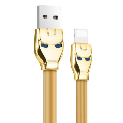 u14 steel man lightning charging cable