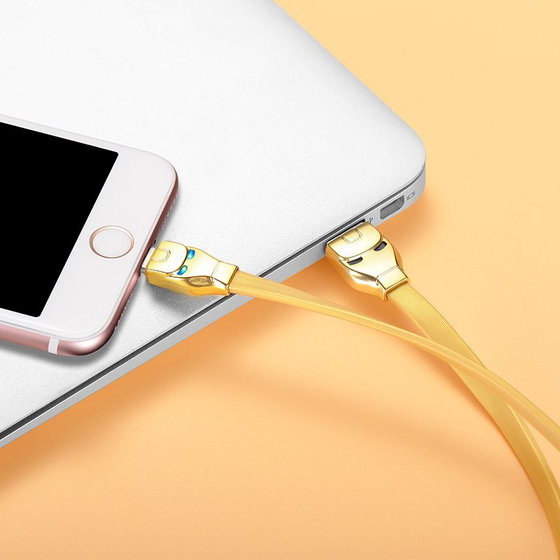 u14 steel man lightning charging cable notebook
